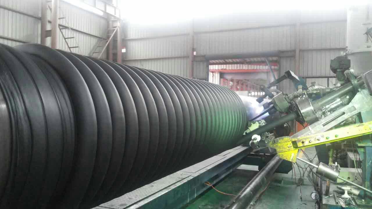 HDPE缠绕结构壁增强管